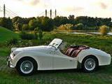 1960 Triumph TR3A Old English White Harald Otto