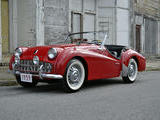 1959 Triumph TR3 Red Mike Gassman