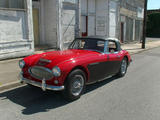 1965 Austin Healey 3000 BJ8 Red Black Mike Gassman