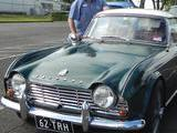 1962 Triumph TR4 British Racing Green White Roy H