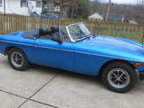 1974 MG MGB Blue Bruce Krogh