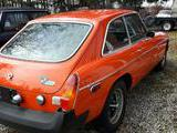1974 MG MGB GT Blaze Red Ron Weber
