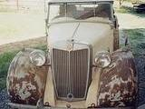 1949 MG Y Type Saloon rusty Camouflage Igal Brickman