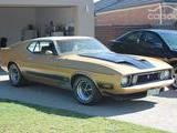 1973 Ford Mustang Mach I Eleanor George BW