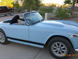 1966 Triumph TR4A Wedgewood Blue Debra T