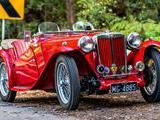 1948 MG TC Red Tony Jones