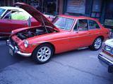1972 MG MGB V6 Conversion Orange R Scott Sauer