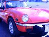 1978 Triumph Spitfire 1500 Orange Alan Mc