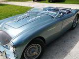 1953 Austin Healey 100 Healey Grey Gene Kwiatkowski