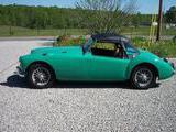 1957 MG MGA 1500 Tyrolite Green Bob Myers