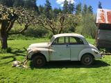 1960 Morris Minor 1000 Saloon 2 door Beige Bill DeCamp