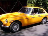 1970 MG MGB GT Bronze Yellow Tony P