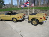 1973 MG MGB Harvest Gold Tom B