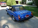 1976 MG Midget 1500 Blue Gerald Albertson