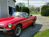 1980 MG MGB Limited Edition LE Black Fred W