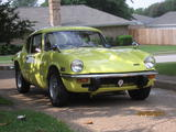 1971 Triumph GT6 MkIII Mimosa Yellow Tommy Cook