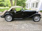 1952 MG TD Black Geert S