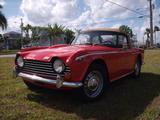 1968 Triumph TR250 Red Joe Renda