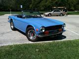 1973 Triumph TR6 FRENCH BLUE DAVE ROBBINS