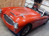 1960 Austin Healey 3000 Red david bakos