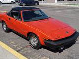 1981 Triumph TR7 Drophead Carnelian Red James S