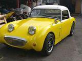 1961 Austin Healey Sprite D719 Verdant Yellow Donn Engler