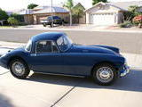 1958 MG MGA 1500 Coupe Mineral Blue Larry Wilson