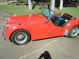 1959 Triumph TR3A Red Wayne Watkins