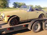 1973 MG Midget MkIII Harvest Gold Scott S