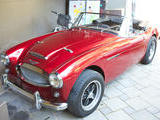 1963 Austin Healey 3000 Red Kent Gordon