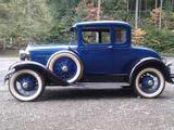 1931 Ford Model A Blue Randy Bradley
