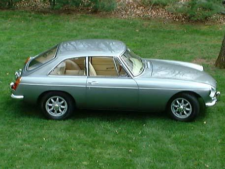 1967 MG MGB GT (GHD3L101032) : Registry : The AutoShrine Network