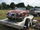1960 MG MGA 1600 Maroon Kevin Richards