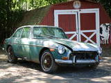 1971 MG MGB GT Green Frank T