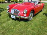 1961 MG MGA Red Mike Gordon