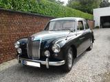 1958 MG Magnette ZB Varitone Birch Grey Twilight Grey Pascal Devi