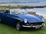 1971 MG MGB Blue Patrick Trimmer