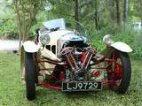 1934 Morgan 3 Wheeler Ivory Mark Braunstein