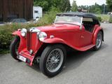 1936 MG TA Red Daniel Weber