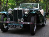 1948 MG TC Green green phil smith