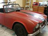 1964 Triumph TR4 Red Karl Repass