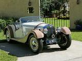 1951 Morgan Plus 4 4 Beige With Cafe Ole Wings Mark Braunstein