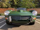 1964 Triumph Spitfire British Racing Green Laura Lippay