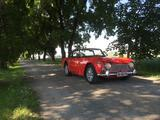 1965 Triumph TR4A Red Kjell Bencsik