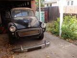 1959 Morris Minor 1000 Saloon 2 door Black Martin Harrison