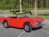 1967 Triumph TR4A Signal Red Alex L