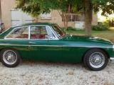 1968 MG MGC GT British Racing Green Alan Glassenbury