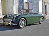 1961 Austin Healey Bugeye Sprite Green Mike Gassman