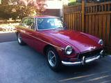 1971 MG MGB GT Faded Tartan Red Dave Diamond