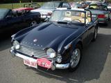 1967 Triumph TR4A Royal Blue Willy Droushoudt